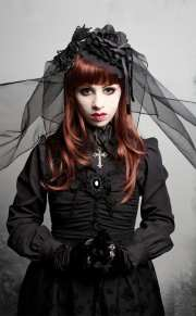 gothic hairstyles-20 hairstyles