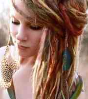 hippie hairstyles - 27 cute