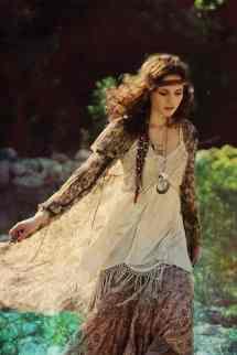 Bohemian Gypsy Hippie Girl