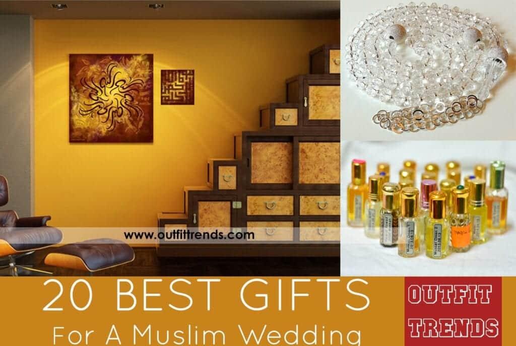 muslim wedding gift ideas