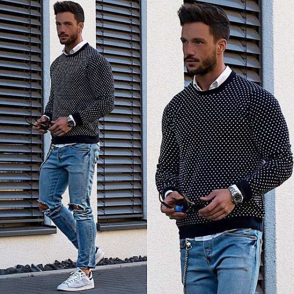 How to Style Adidas Superstar Men-18 Outfits with Adidas ...