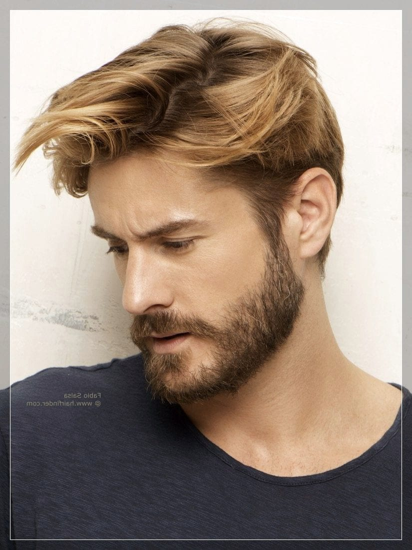 beard styles for round