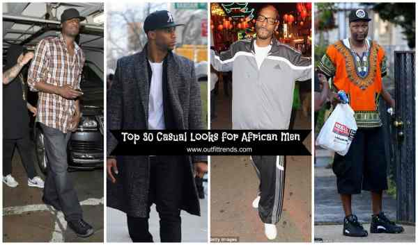 Casual Outfits Ideas Black Men - African Fashion