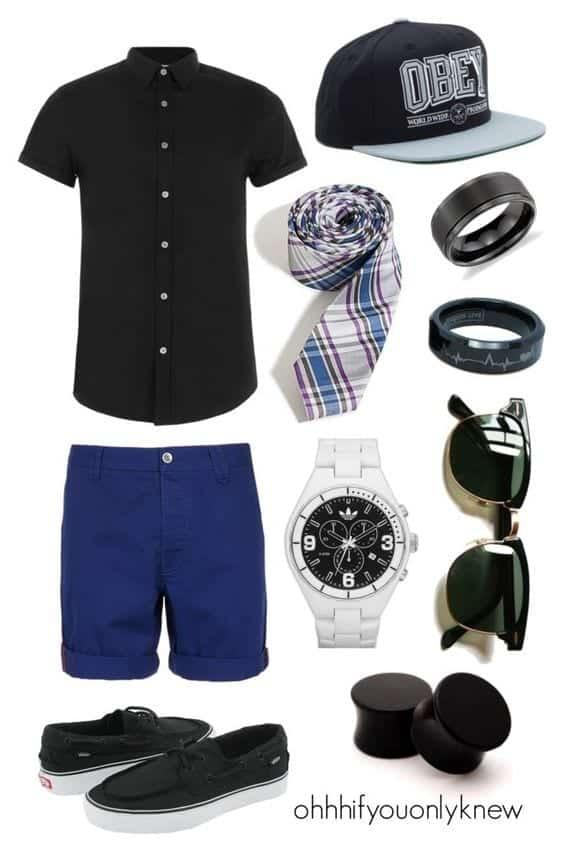 Men Outfits Summer Date