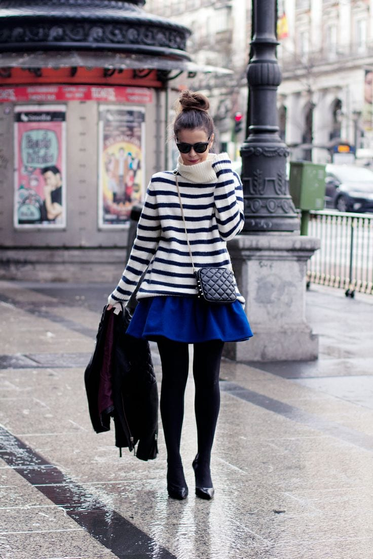 Cobalt Blue Skirt Outfits 25 Ways To Wear Cobalt Blue Skirt