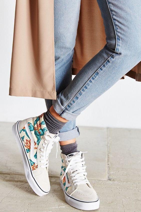 Womens Fashion Slip On Sneakers