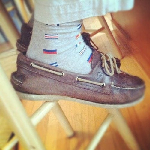 25 Ideas How To Wear Funky Colorful Socks For Men