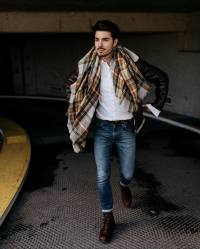 Guys Outfits with Scarves  26 Ways to Wear a Scarf for Men