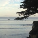 Tracking happiness with tweets (and arriving in Santa Cruz)