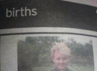 Parents Print Birth Announcement Retraction