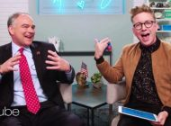Tim Kaine sits down with Tyler Oakley and learns the meaning of 'YAAS'