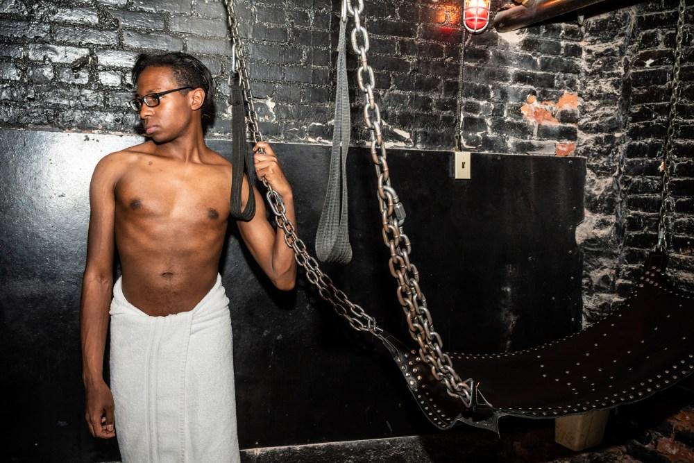 Big tits bra bondage