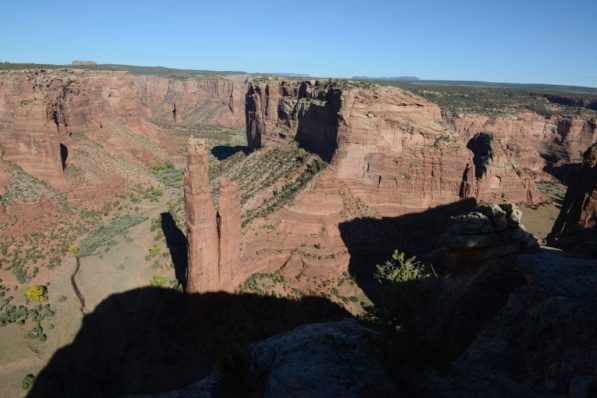 Spider Rock from the rim of Canyon de Chelly