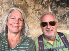 Joyce & Bruce at Long House, Mesa Verde National Park