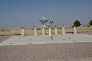 The pillars of a Sundial at the VLA