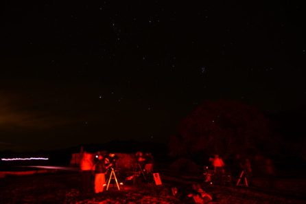 Astronomers hoping to spot meteors Tumacacori NHP