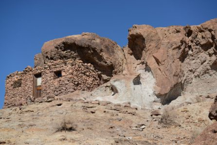 Cliff Dwellings at Calico Ghost Town