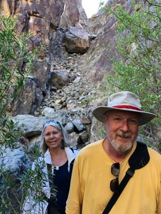 Joyce & Bruce Hiking