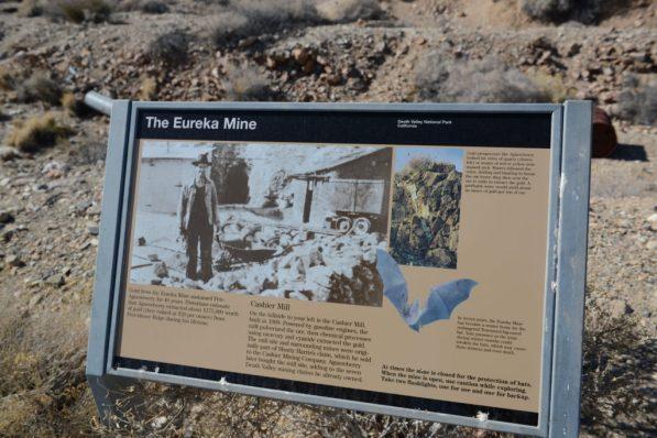 Eureka Mine sign