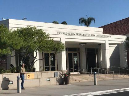 Richard Nixon Presidential Library Yorba Linda CA