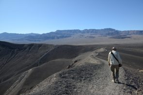 Ubehebe Crater Rim Trail