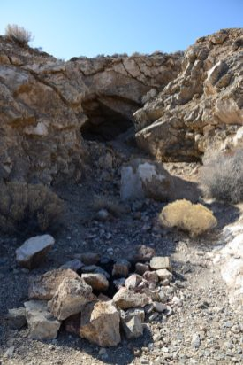 A mine entrance