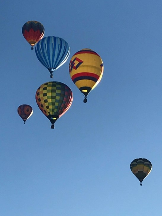 Sun finally shining after several events were canceled for poor ballooning conditions