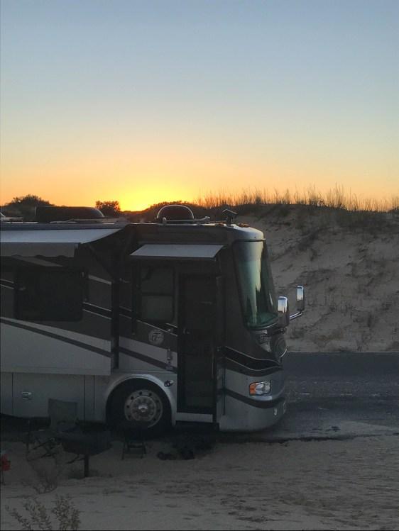 Sun over the dune