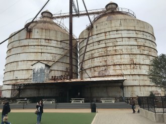 The silos are cool!