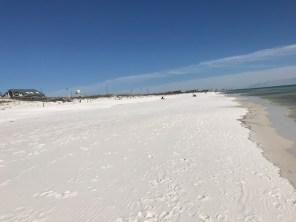 Gorgeous nearly empty beach