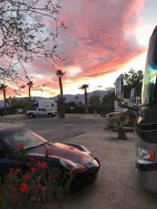 Desert Hot Springs sunset