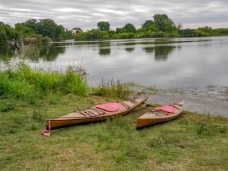 Kayaks ready to go Medard Park Plant City