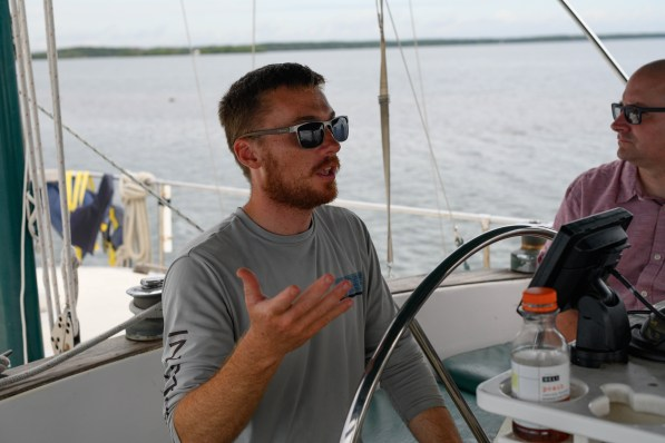 Bryce, our capitan and guide Biscayne National Park