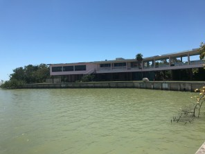 Flamingo Visitor Center stands in ruins for now