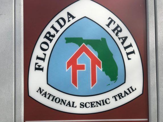 The Florida Trail runs through the campground