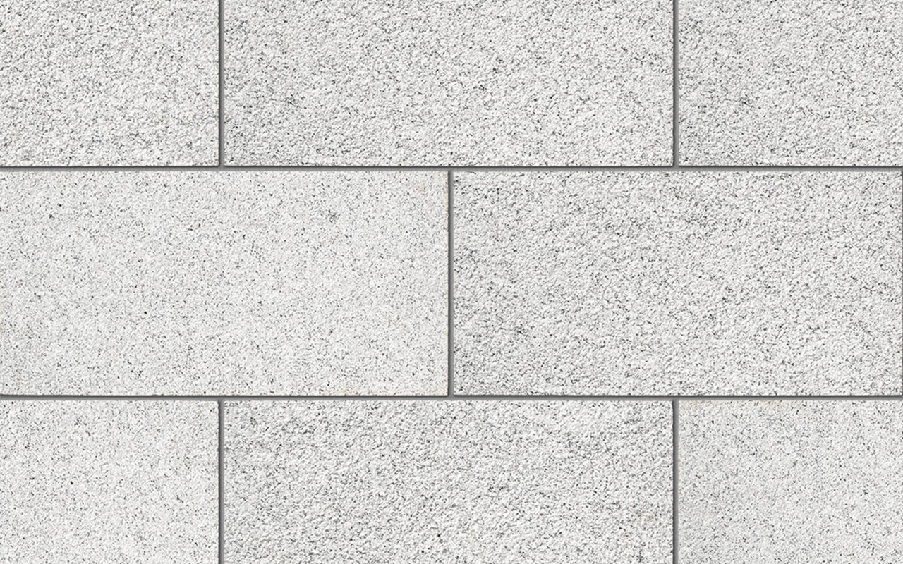 Silver Grey Granite Flag Paving Tile