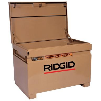 coffre de chantier ridgid knaack modele n 4830