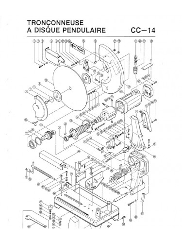 Acheter pièces détachées Hitachi outils bricolage
