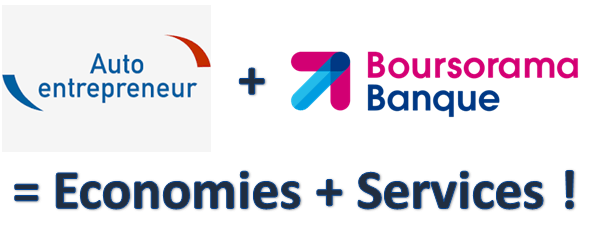 Boursorama la meilleure banque pour les Auto-entrepreneurs
