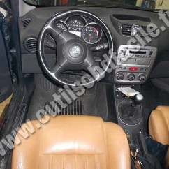 Obd2 Wiring Diagram Ford Fiesta Radio 2000 Connector Location In Alfa Romeo 147 2004 Outils Obd Dashboard