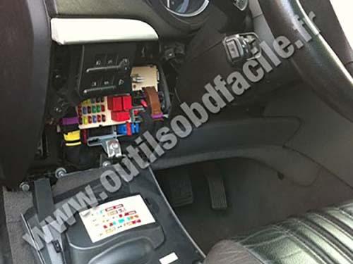 2007 Cadillac Cts Fuse Box Obd2 Connector Location In Alfa Romeo Brera 2005 2010