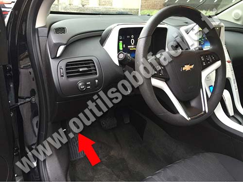 2008 Chevy Cobalt Fuse Box Wiring Obd2 Connector Location In Chevrolet Volt 2010 2015