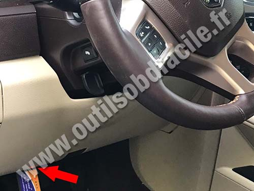 2007 Dodge Nitro Wiring Diagram Obd2 Connector Location In Dodge Ram 2009 2018