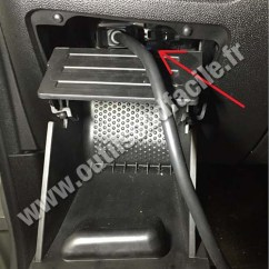 Fiat Stilo Wiring Diagram Pictorial Obd2 Connector Location In Punto Evo (2009 - 2012) Outils Obd Facile