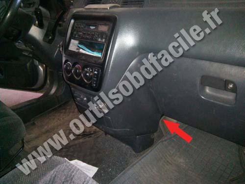 2000 Honda Cr V Obd Location