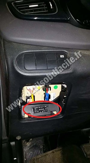 Vehicle Obd Connector Location  Wiring Diagram Pictures