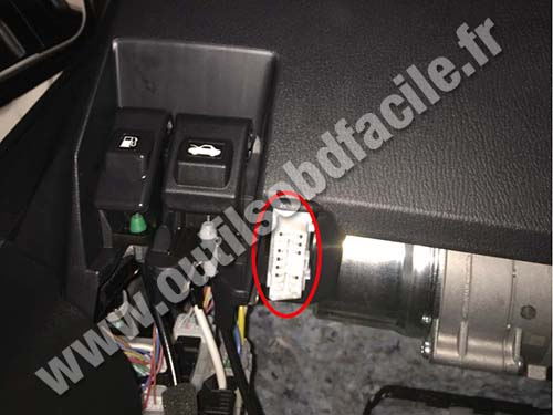 Mazda 3 Obd Connector Location