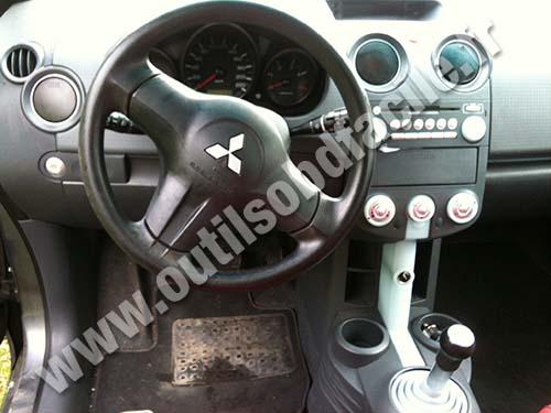 2014 Lancer Fuse Box Cover Obd2 Connector Location In Mitsubishi Colt 2004 2008