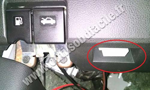Nissan Sentra Obd Port Location