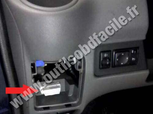2003 Nissan Maxima Fuse Diagram Obd2 Connector Location In Nissan Nv200 2009